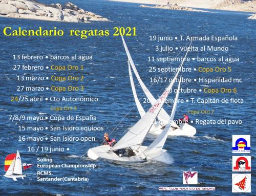 Calendario Soling 2021