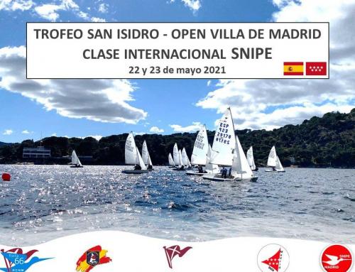 Snipe – Trofeo San Isidro – Open Villa de Madrid – Fin de Campeonato